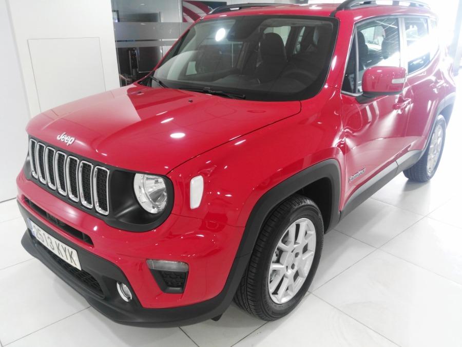 JEEP Renegade Rojo Gasolina Manual 4x4 SUV 5 puertas 2019