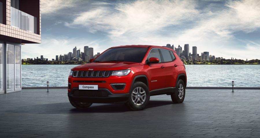 JEEP Compass Rojo Gasolina Manual 4x4 SUV 5 puertas 2020