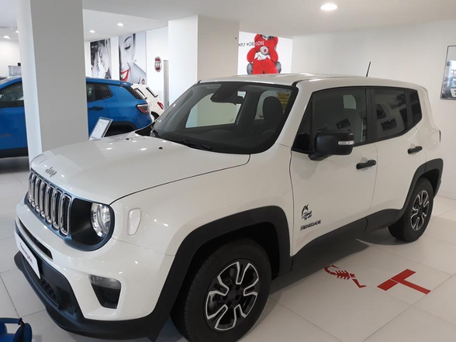 JEEP Renegade Blanco Gasolina Manual 4x4 SUV 5 puertas 2019