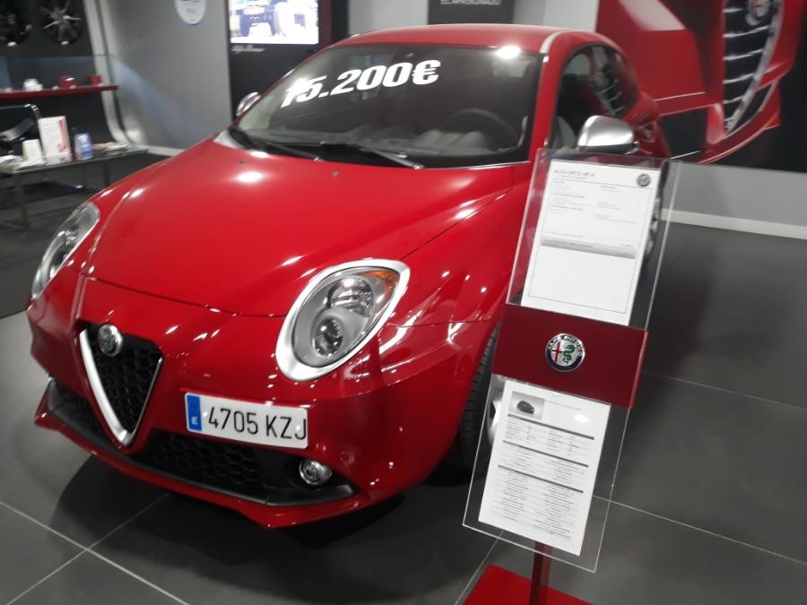 Alfa Romeo MiTo Rojo Diesel Manual Berlina 3 puertas 2018