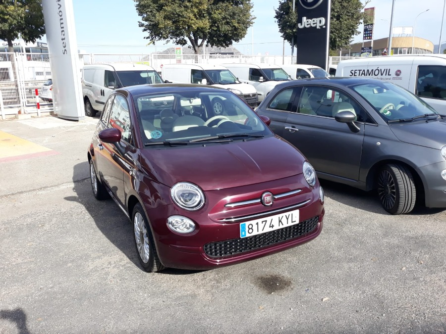 FIAT 500 Granate Gasolina Manual Berlina 3 puertas 2019