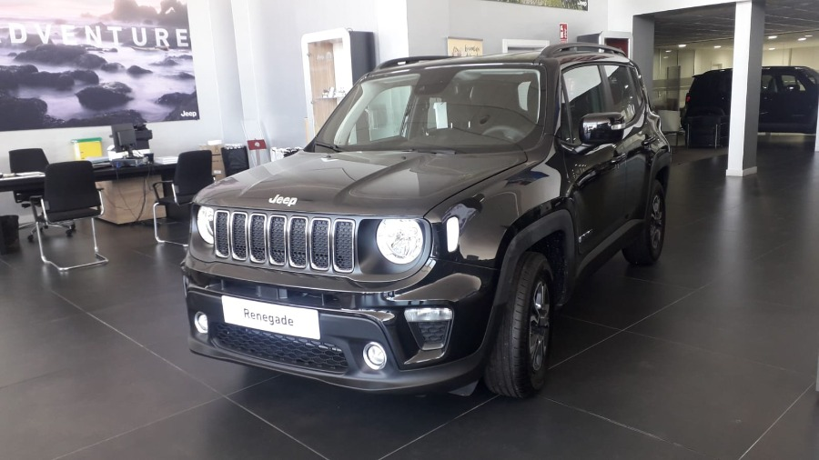 JEEP Renegade Negro Gasolina Manual 4x4 SUV 5 puertas 2020