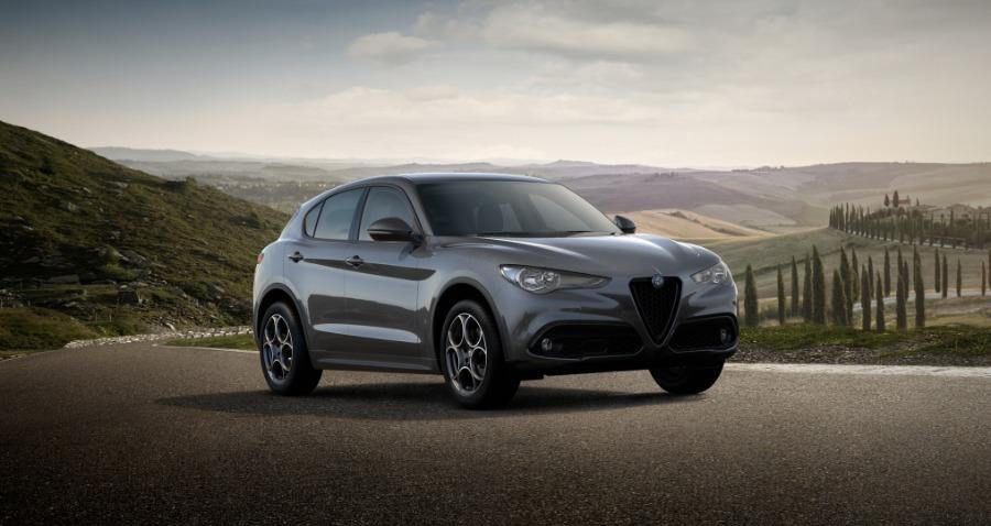 Alfa Romeo Stelvio Gris / Plata Diesel Automático 4x4 SUV 5 puertas 2021