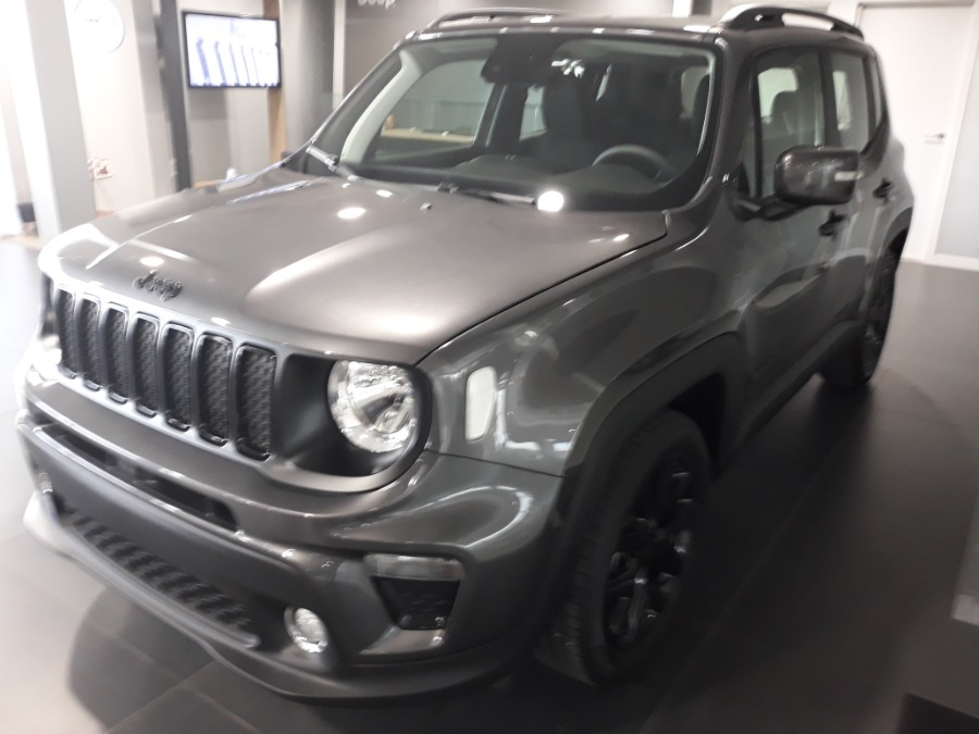 JEEP Renegade Gris / Plata Gasolina Manual 4x4 SUV 5 puertas 2019