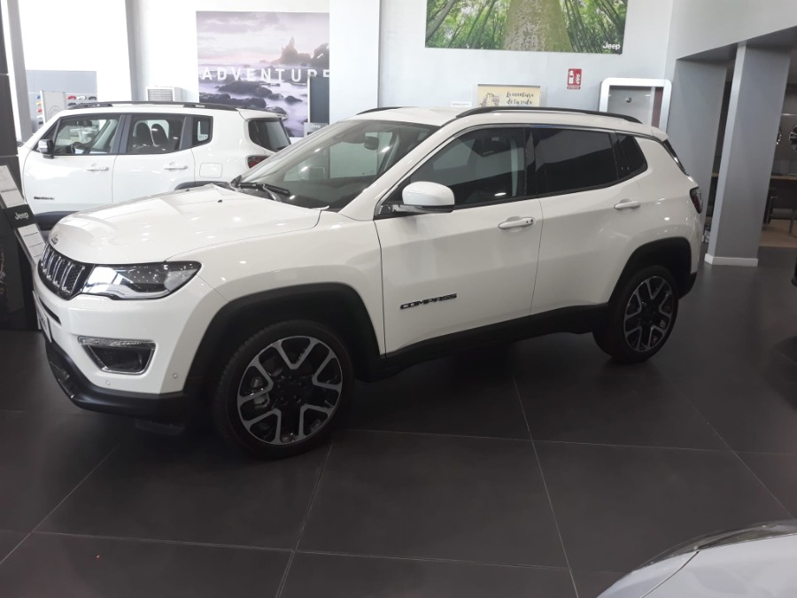 JEEP Compass Blanco Gasolina Manual 4x4 SUV 5 puertas 2020