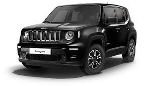 JEEP Renegade Negro Gasolina Manual 4x4 SUV 5 puertas 2019