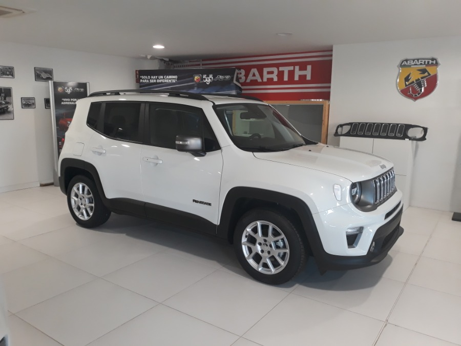 JEEP Renegade Blanco Gasolina Manual 4x4 SUV 5 puertas 2020