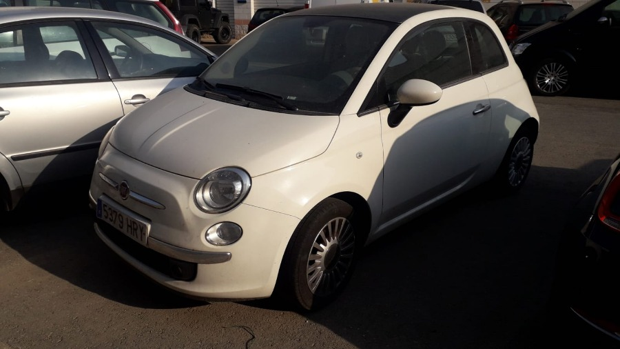 FIAT 500 Blanco Gasolina Manual Berlina 3 puertas 2012