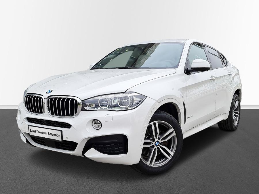 BMW X6 Blanco Diesel Automático 4x4 SUV 5 puertas 2016
