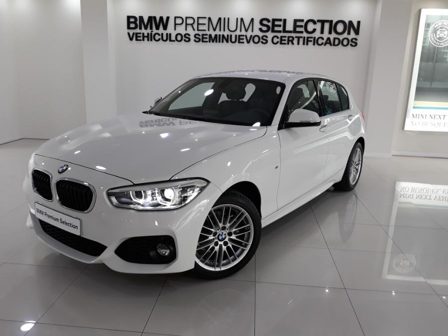 BMW Serie 1 Blanco Diesel Automático Berlina 5 puertas 2019