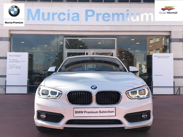 BMW Serie 1 Blanco Diesel Manual Berlina 5 puertas 2018