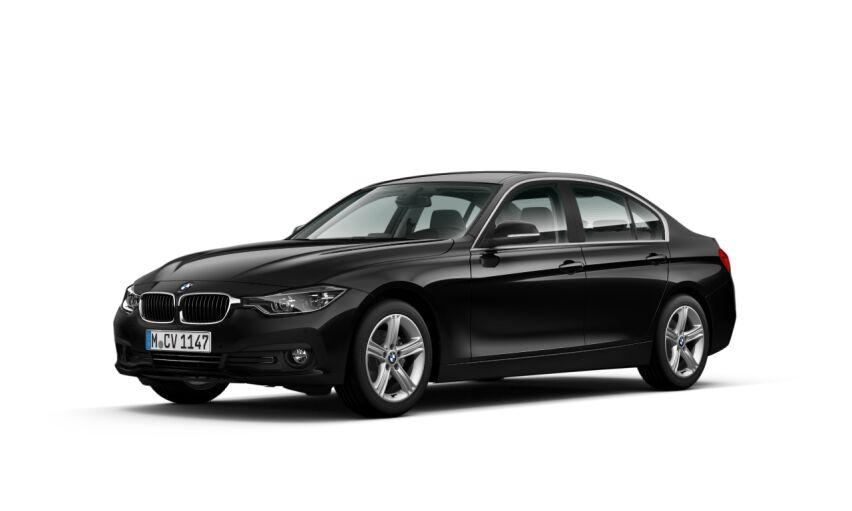 BMW Serie 3 Negro Diesel Automático Berlina 4 puertas 2016