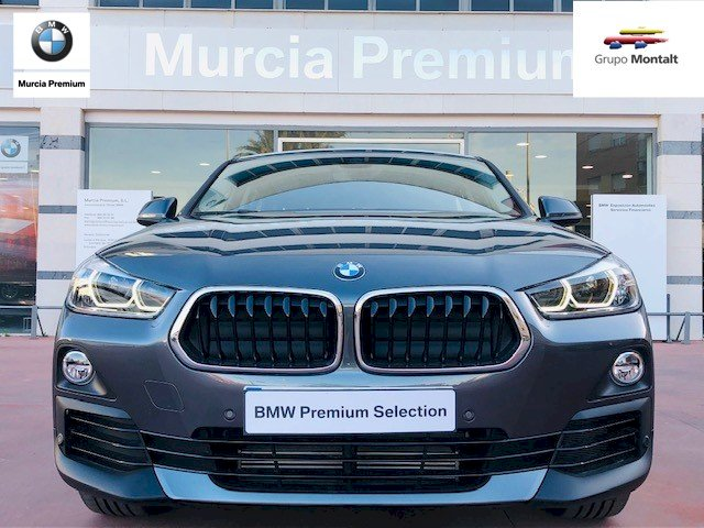 BMW X2 Gris / Plata Gasolina Automático 4x4 SUV 5 puertas 2018