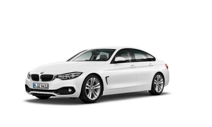BMW Serie 4 Blanco Diesel Automático Berlina 5 puertas 2018
