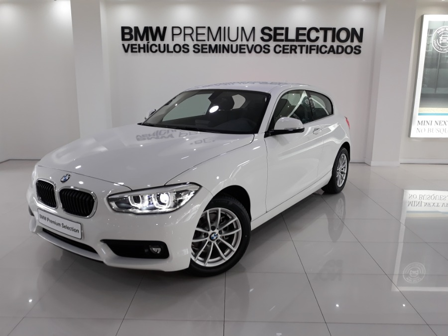 BMW Serie 1 Blanco Diesel Manual Berlina 3 puertas 2019