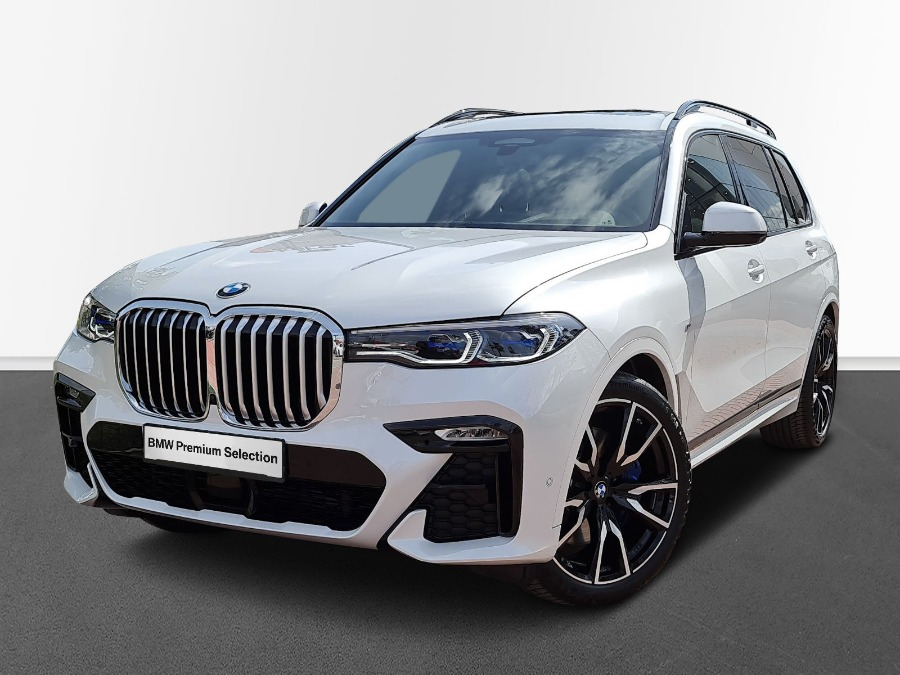 BMW X7 Blanco Diesel Automático 4x4 SUV 5 puertas 2021