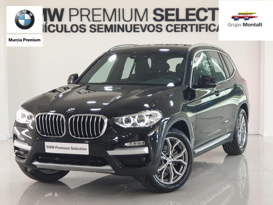 BMW X3 Negro Diesel Automático 4x4 SUV 5 puertas 2018