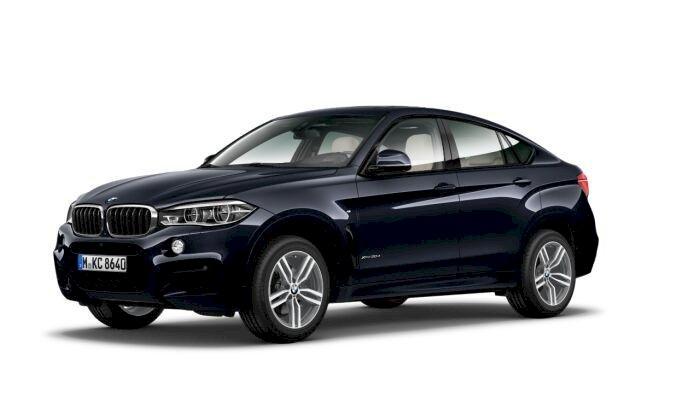 BMW X6 Violeta / Lila Diesel Automático 4x4 SUV 5 puertas 2018