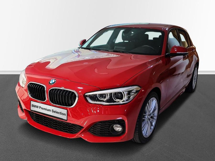BMW Serie 1 Rojo Diesel Manual Berlina 5 puertas 2017