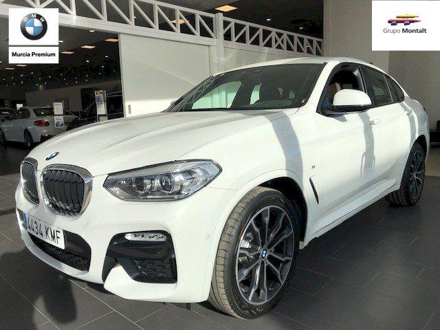 BMW X4 Blanco Diesel Automático 4x4 SUV 5 puertas 2018