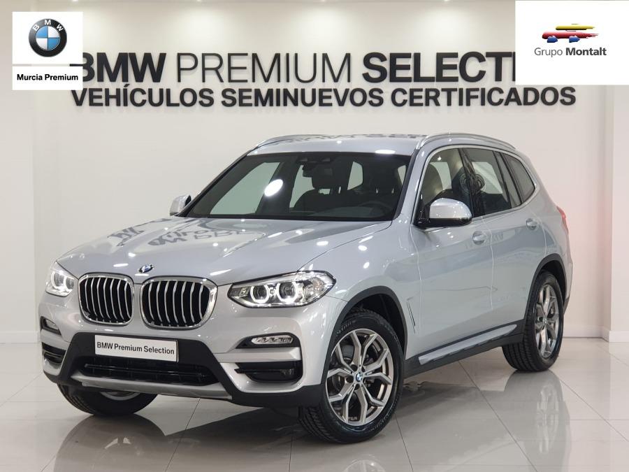 BMW X3 Gris / Plata Diesel Automático 4x4 SUV 5 puertas 2018