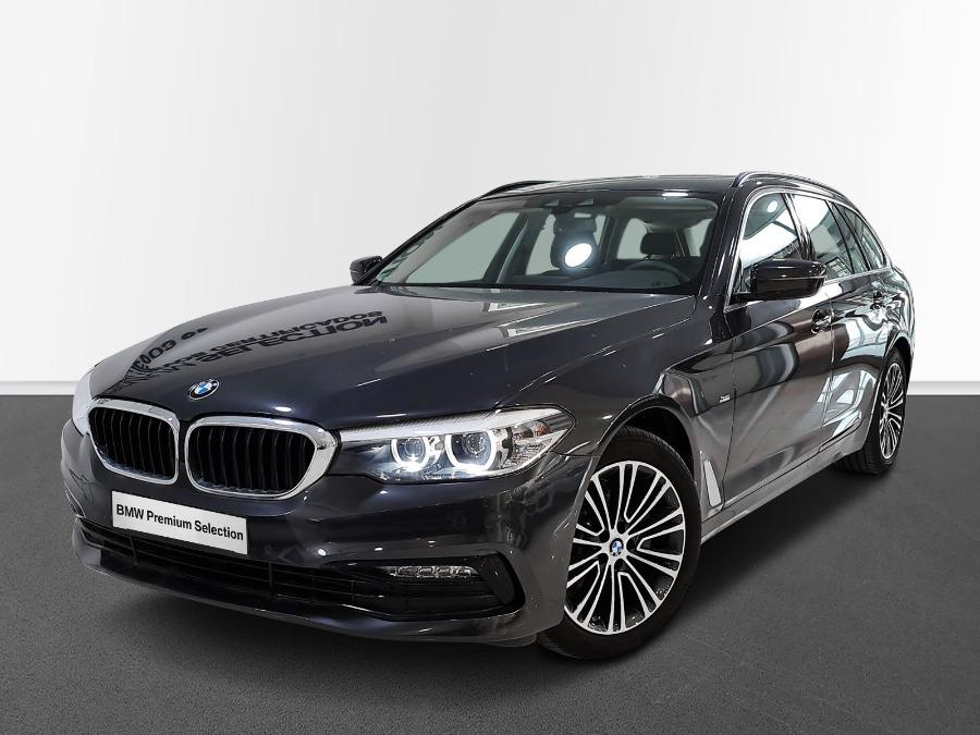 BMW Serie 5 Gris / Plata Diesel Automático Familiar 5 puertas 2019