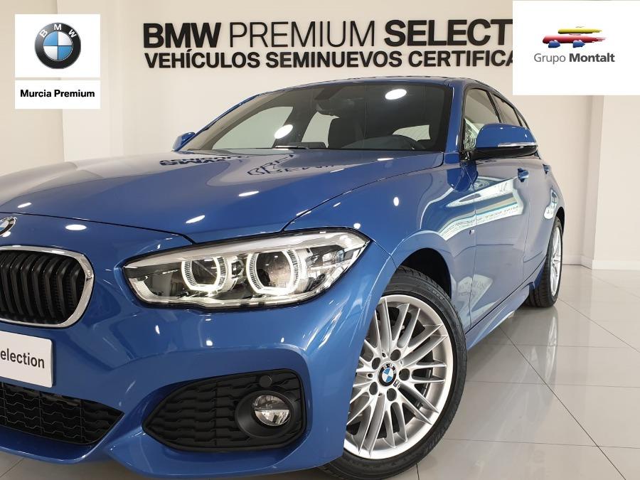 BMW Serie 1 Azul Diesel Manual Berlina 5 puertas 2019