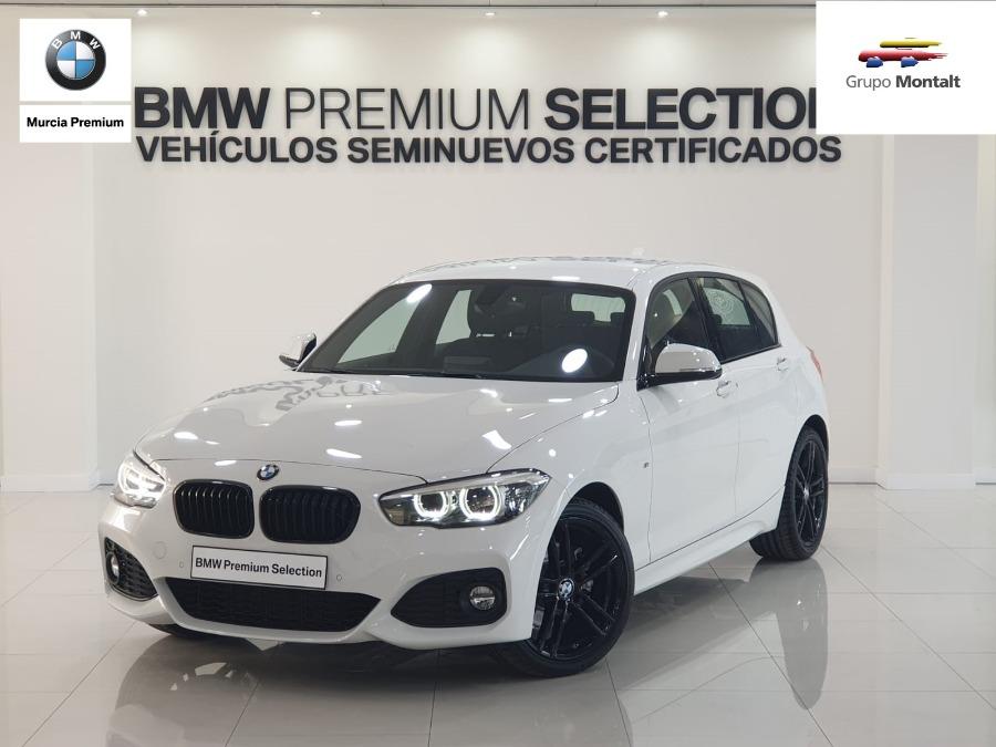 BMW Serie 1 Blanco Gasolina Automático Berlina 5 puertas 2019