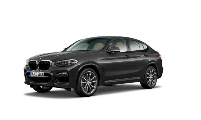 BMW X4 Gris / Plata Diesel Automático 4x4 SUV 5 puertas 2018