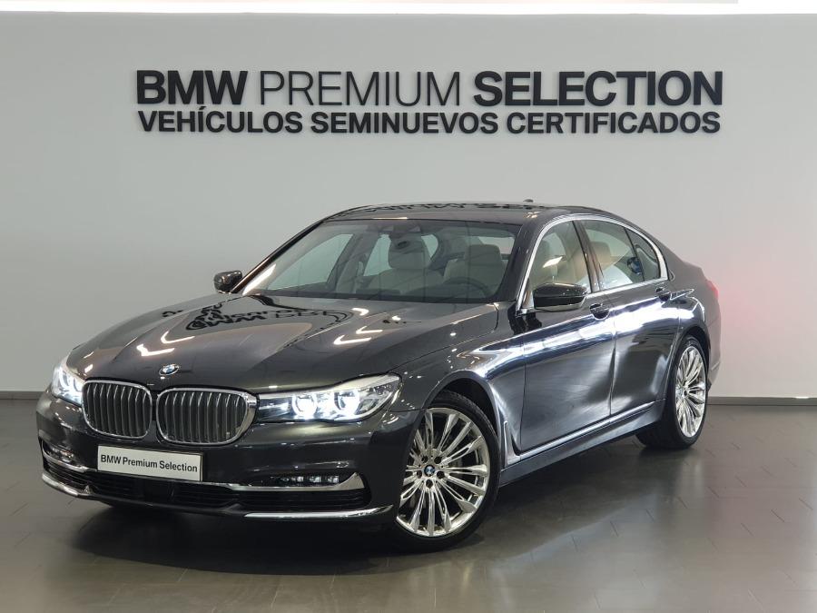 BMW Serie 7 Gris / Plata Diesel Automático Berlina 4 puertas 2018
