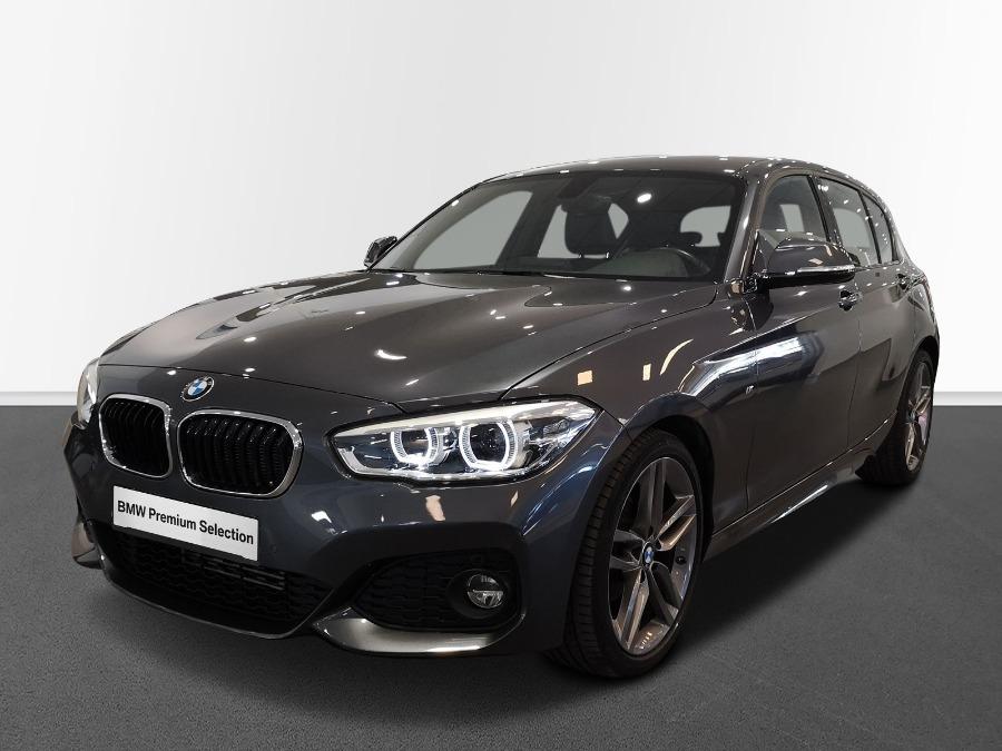 BMW Serie 1 Gris / Plata Gasolina Manual Berlina 5 puertas 2018