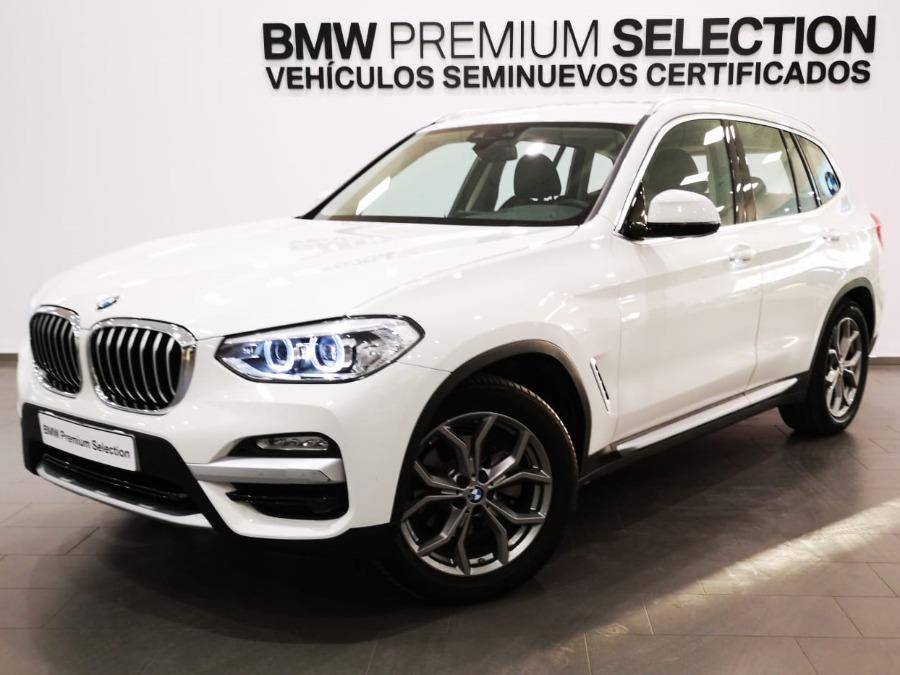 BMW X3 Blanco Diesel Automático 4x4 SUV 5 puertas 2018
