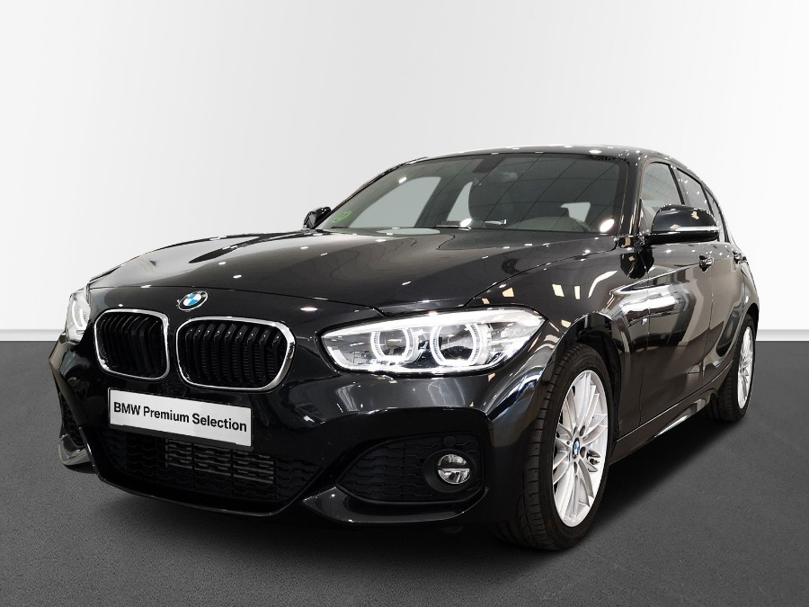 BMW Serie 1 Negro Gasolina Manual Berlina 5 puertas 2018