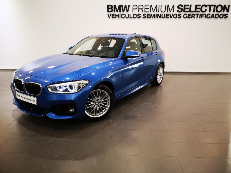 BMW Serie 1 Azul Gasolina Manual Berlina 5 puertas 2019