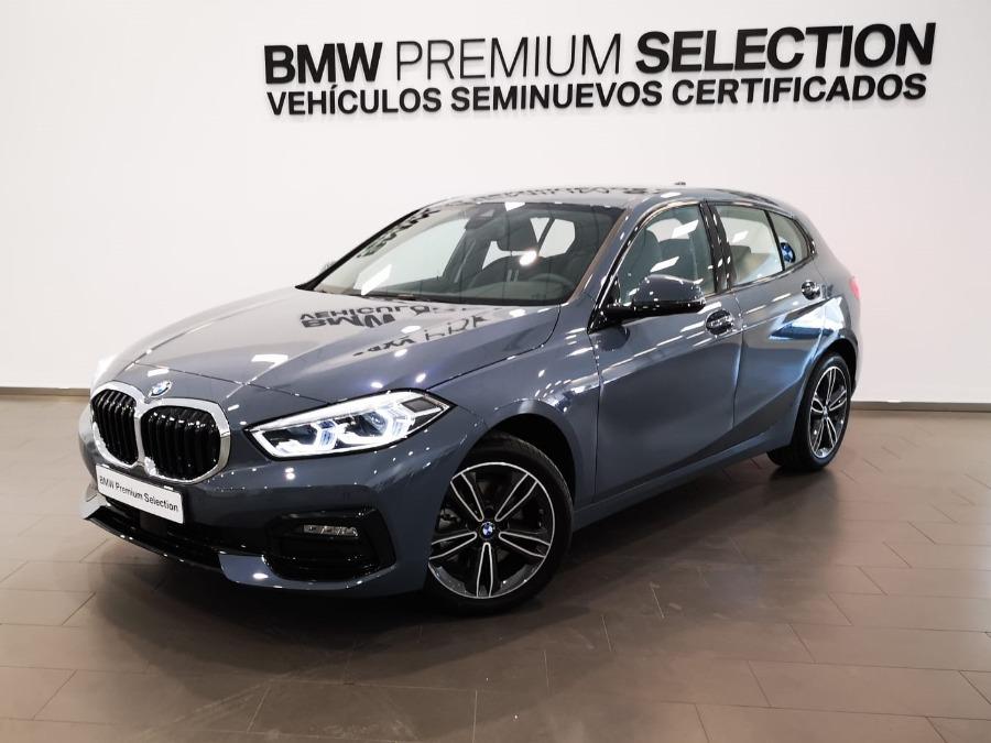 BMW Serie 1 Gris / Plata Diesel Automático Berlina 5 puertas 2020