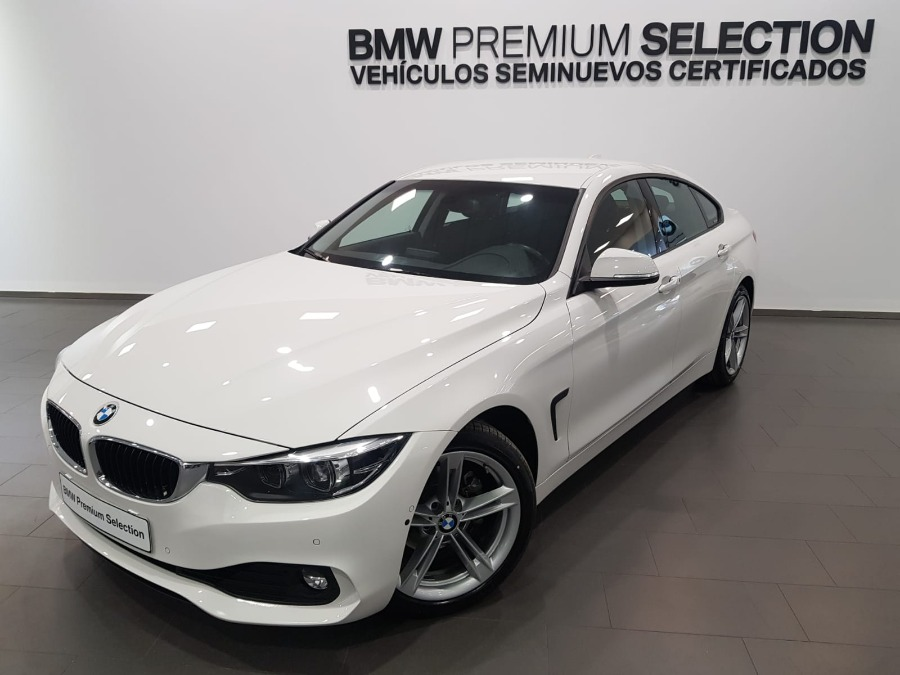 BMW Serie 4 Blanco Gasolina Automático Berlina 5 puertas 2018