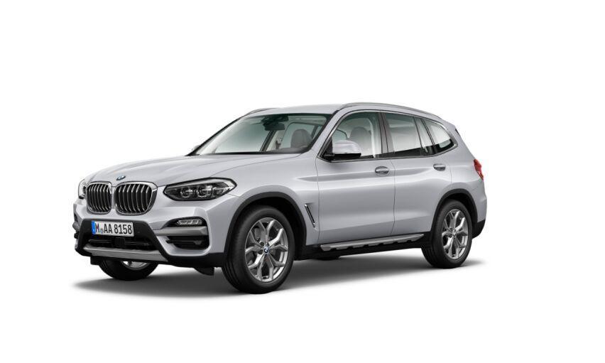 BMW X3 Gris / Plata Diesel Automático 4x4 SUV 5 puertas 2019