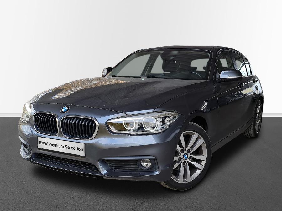 BMW Serie 1 Gris / Plata Gasolina Automático Berlina 5 puertas 2019
