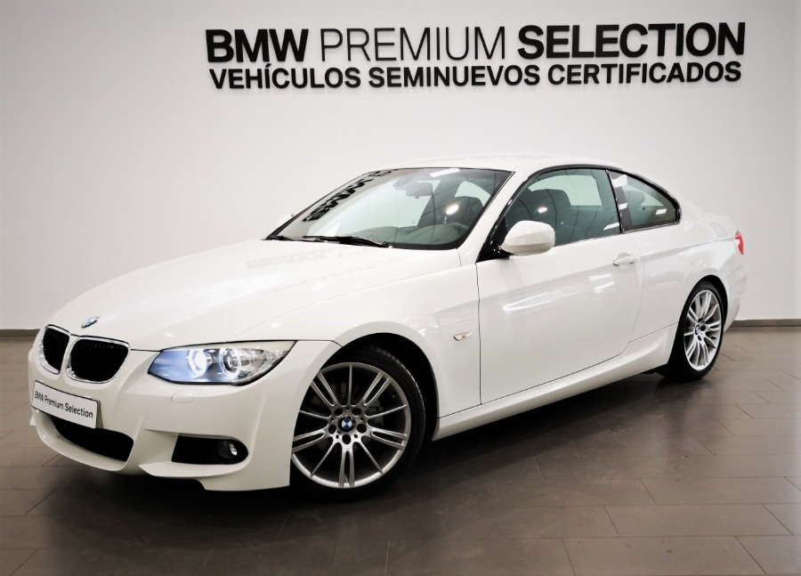 BMW Serie 3 Blanco Gasolina Manual Cabrio 2 puertas 2013
