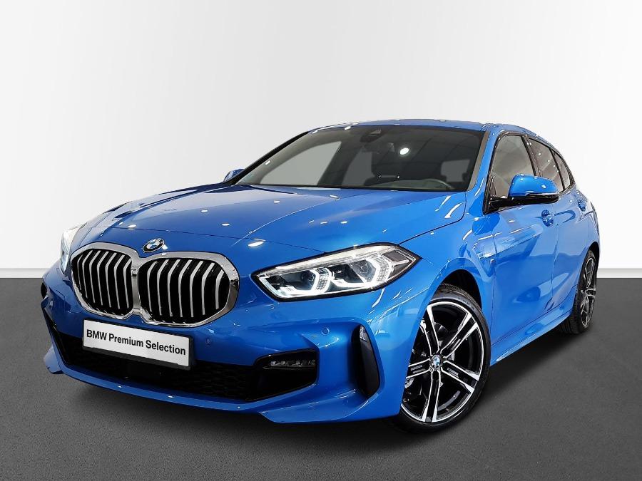 BMW Serie 1 Azul Gasolina Automático Berlina 5 puertas 2020