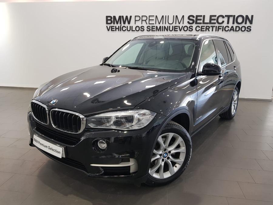 BMW X5 Negro Diesel Automático 4x4 SUV 5 puertas 2016