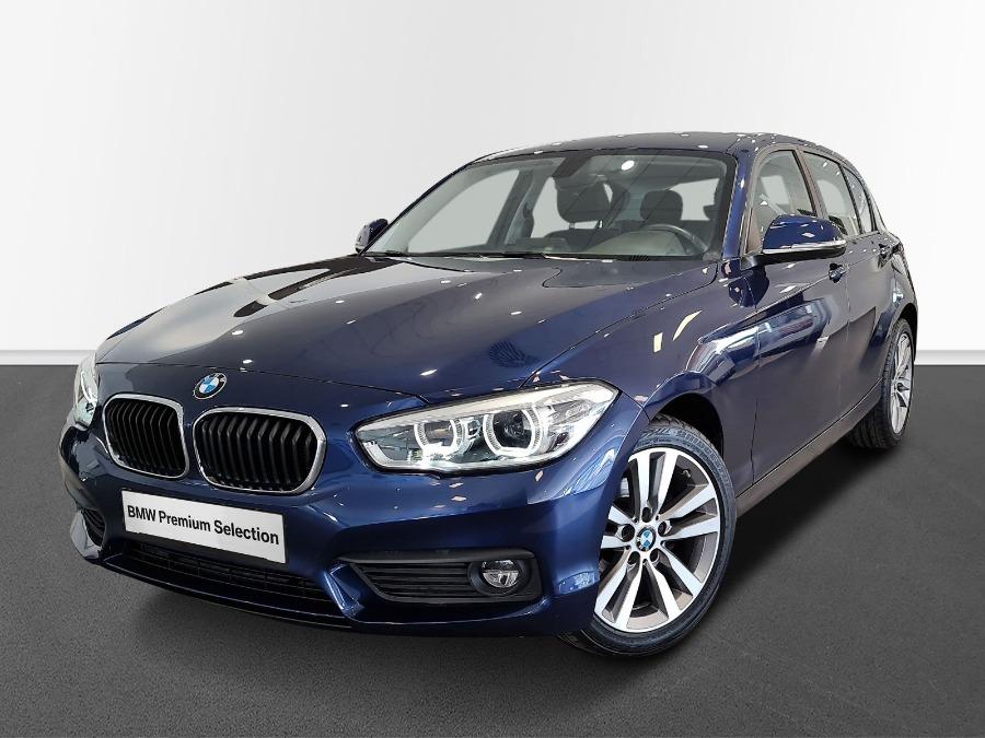 BMW Serie 1 Azul Gasolina Automático Berlina 5 puertas 2019