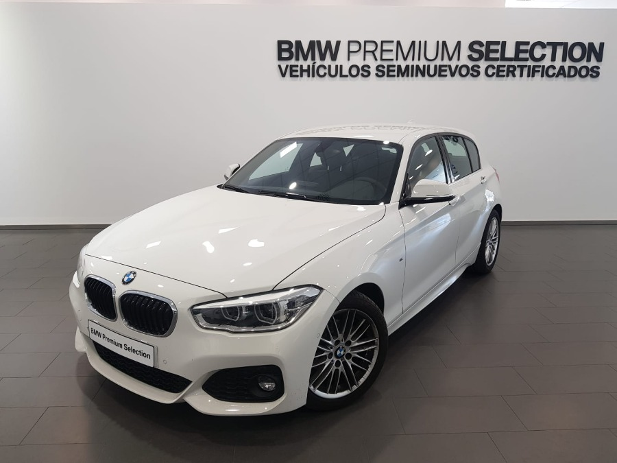 BMW Serie 1 Blanco Gasolina Manual Berlina 5 puertas 2018