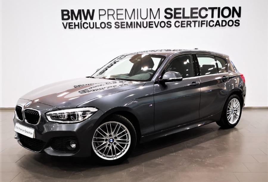 BMW Serie 1 Gris / Plata Diesel Automático Berlina 5 puertas 2019