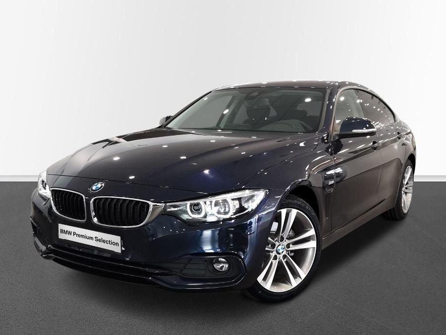 BMW Serie 4 Azul Diesel Automático Berlina 5 puertas 2020
