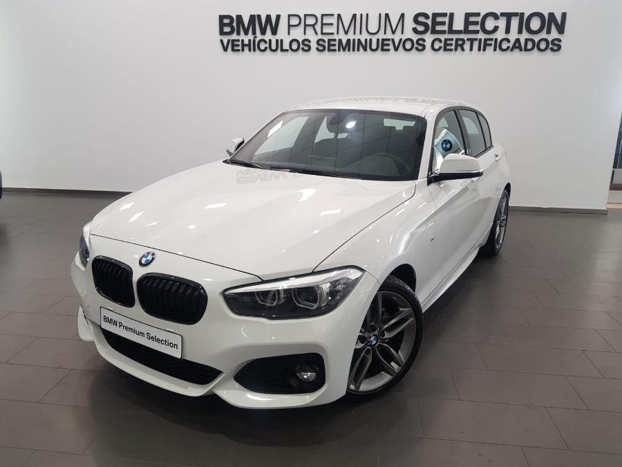 BMW Serie 1 Blanco Gasolina Manual Berlina 5 puertas 2019