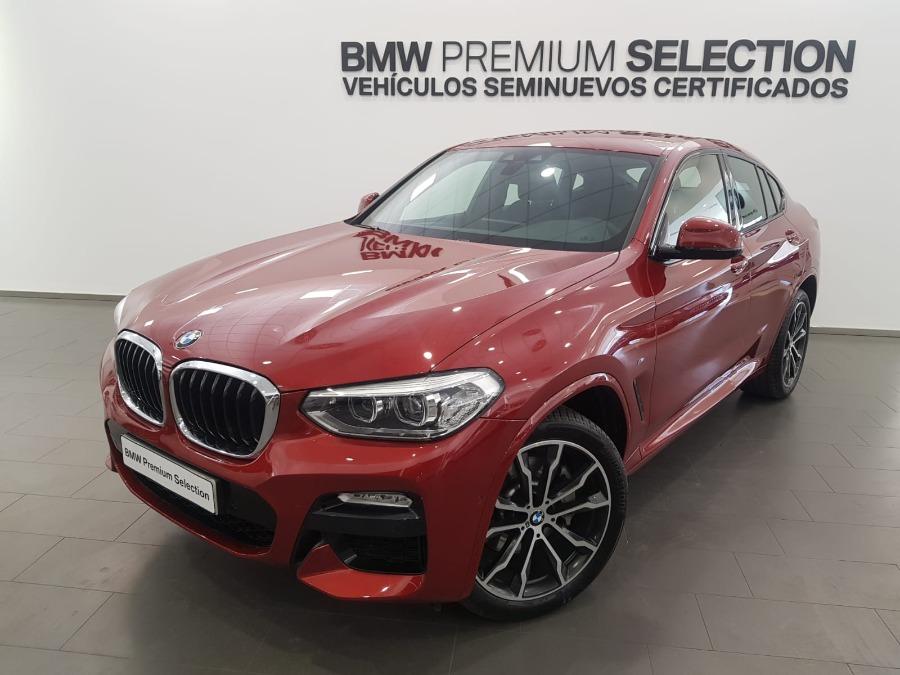 BMW X4 Rojo Diesel Automático 4x4 SUV 5 puertas 2019