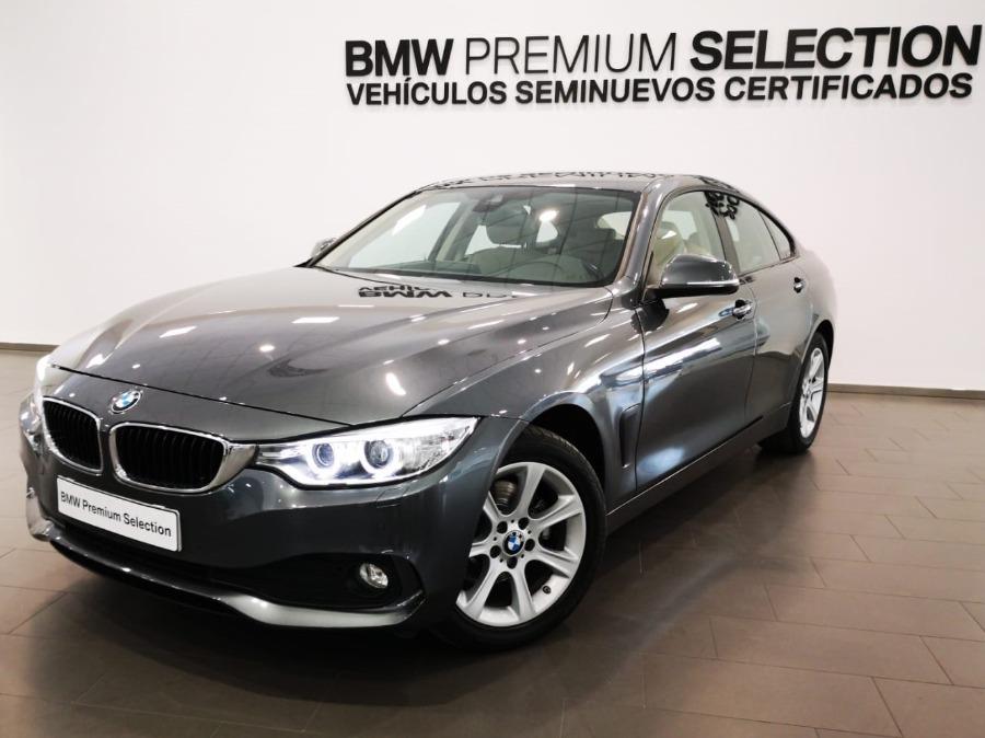 BMW Serie 4 Gris / Plata Diesel Automático Berlina 5 puertas 2016