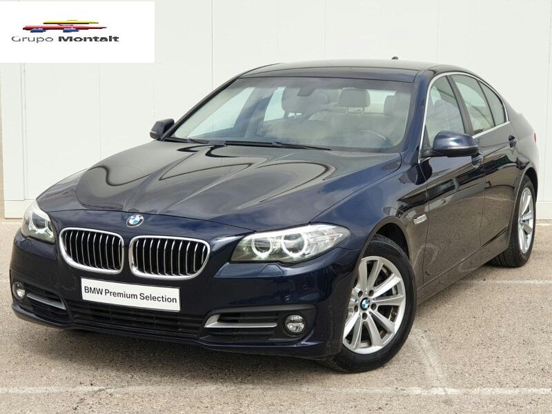 BMW Serie 5 Azul Diesel Automático Berlina 4 puertas 2014