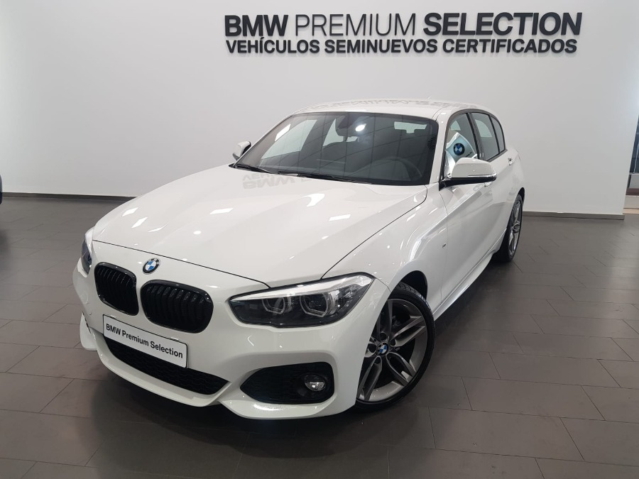 BMW Serie 1 Blanco Gasolina Manual Berlina 5 puertas 2019